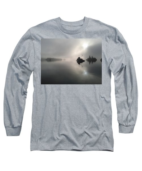 A Moody Morning Long Sleeve T-Shirt