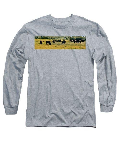 A New Beginning Grand Teton National Park Long Sleeve T-Shirt