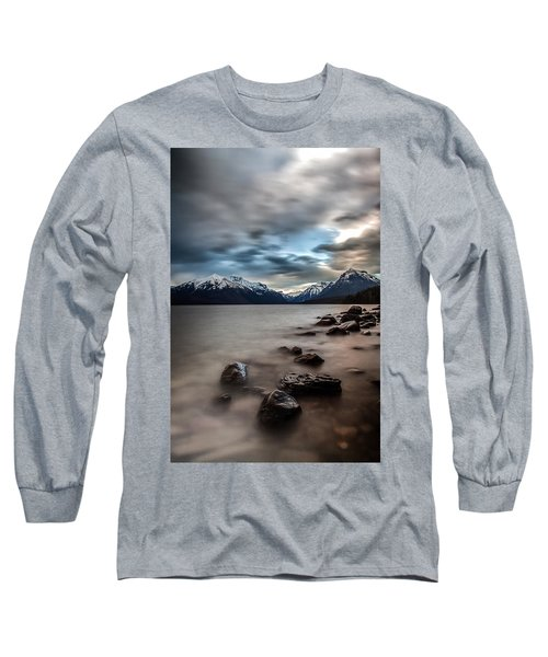 A Patch Of Blue Long Sleeve T-Shirt by Aaron Aldrich
