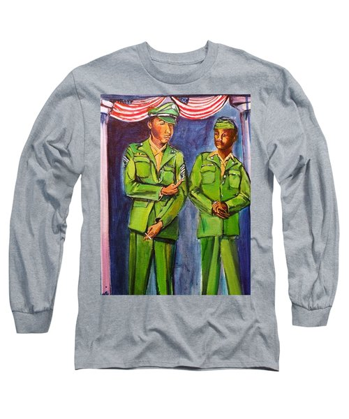 Daddy Soldier Long Sleeve T-Shirt