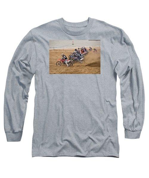 A Racing Start Long Sleeve T-Shirt