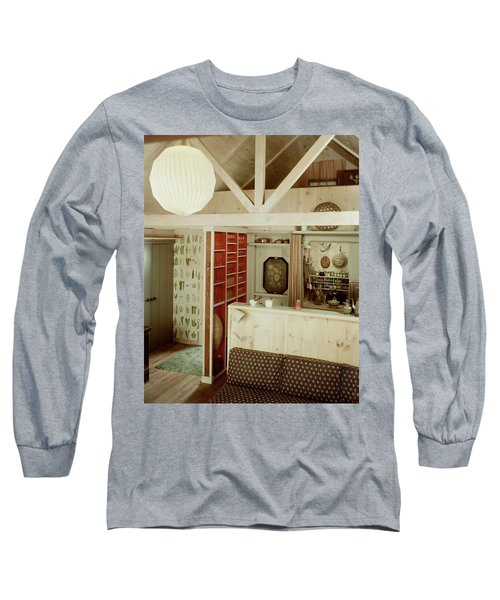 A Rustic Kitchen Long Sleeve T-Shirt