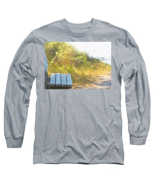 A Seat By The Ocean Long Sleeve T-Shirt