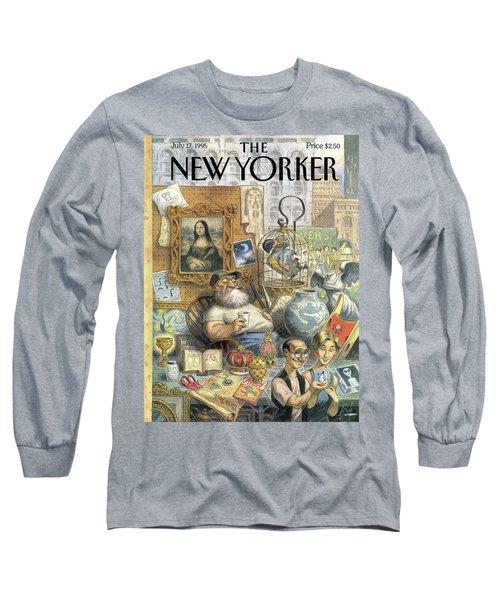 A Shopkeeper Sells Odd Items Long Sleeve T-Shirt