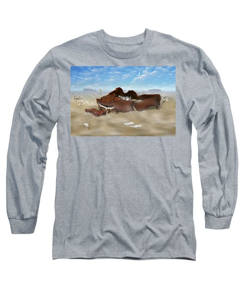 A Slow Death In Piano Valley Long Sleeve T-Shirt