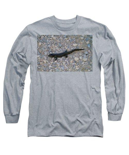 A Slow Salamander  Long Sleeve T-Shirt