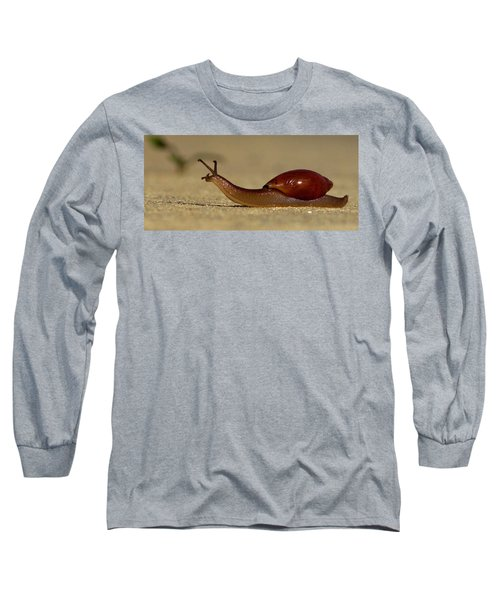A Snails Pace Long Sleeve T-Shirt