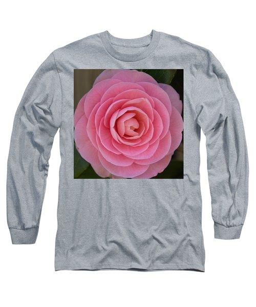 A Soft Blush Long Sleeve T-Shirt