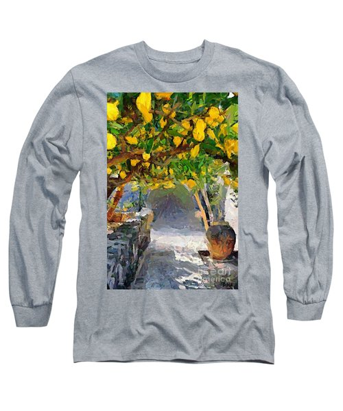 A Voult Of Lemons Long Sleeve T-Shirt