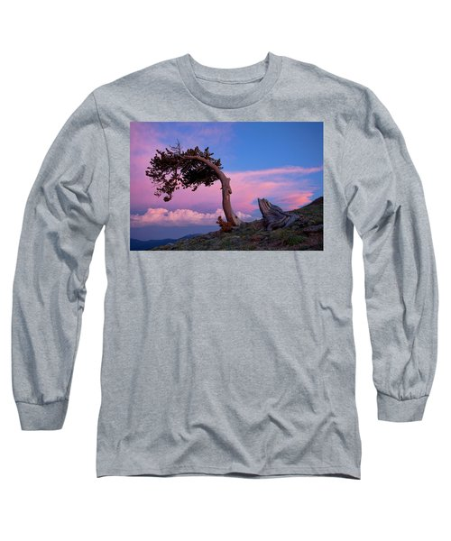 A Westerly Wind Long Sleeve T-Shirt by Jim Garrison