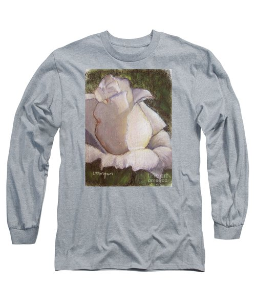 A Whiter Shade Of Pale Long Sleeve T-Shirt by Laurie Morgan