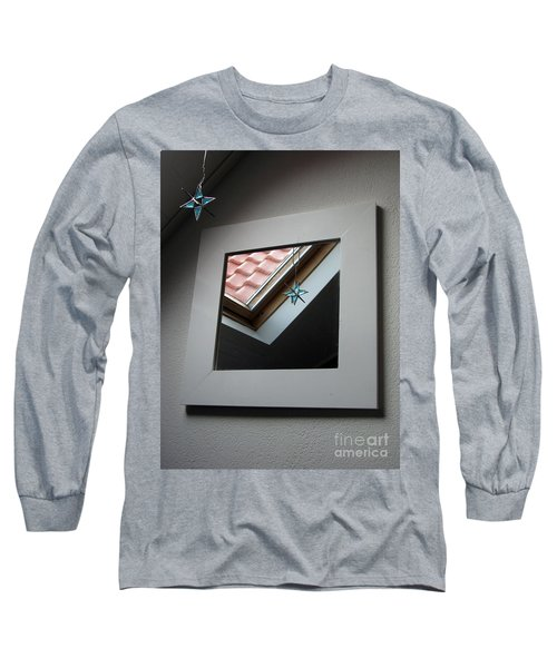 Long Sleeve T-Shirt featuring the photograph A Window To Parallel World by Ausra Huntington nee Paulauskaite
