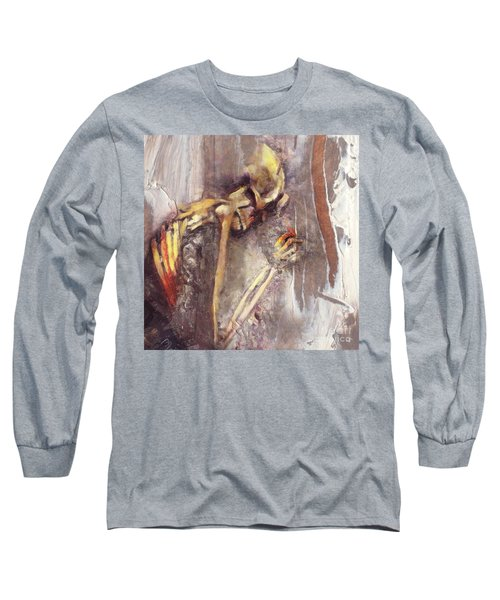 A Wish To Die Artistically Long Sleeve T-Shirt