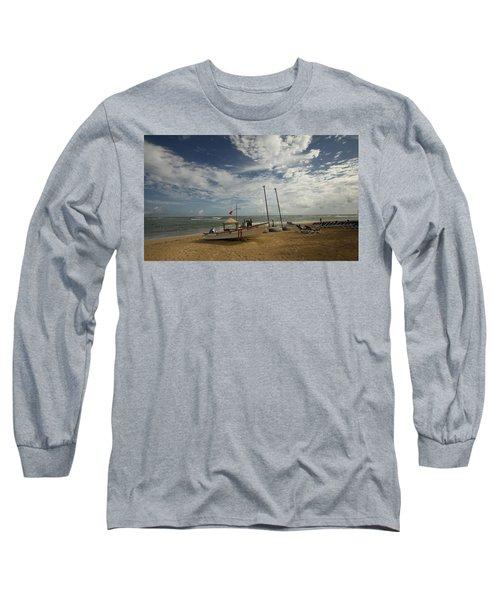 Abandoned Beach Long Sleeve T-Shirt
