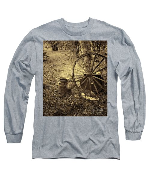 Abandoned - Antique Vintage Long Sleeve T-Shirt
