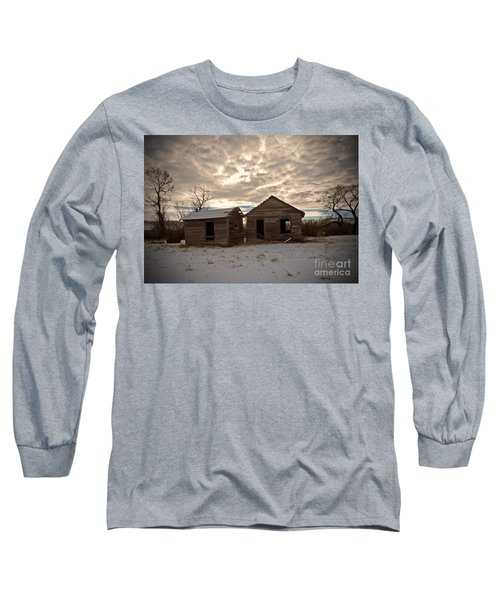 Abandoned History Long Sleeve T-Shirt by Desiree Paquette