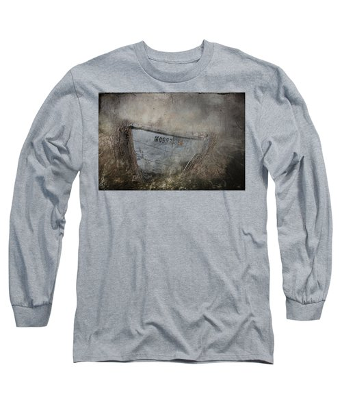 Abandoned On Sugar Island Michigan Long Sleeve T-Shirt