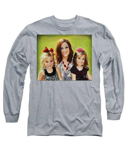 Abby And The Girls Long Sleeve T-Shirt