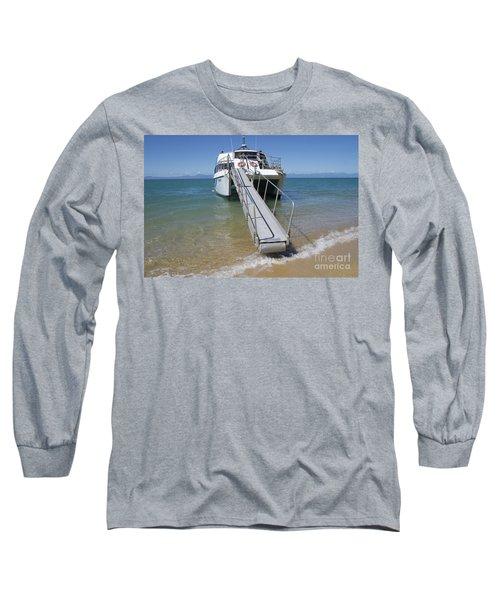 Abel Tasman Water Taxi Long Sleeve T-Shirt by Loriannah Hespe