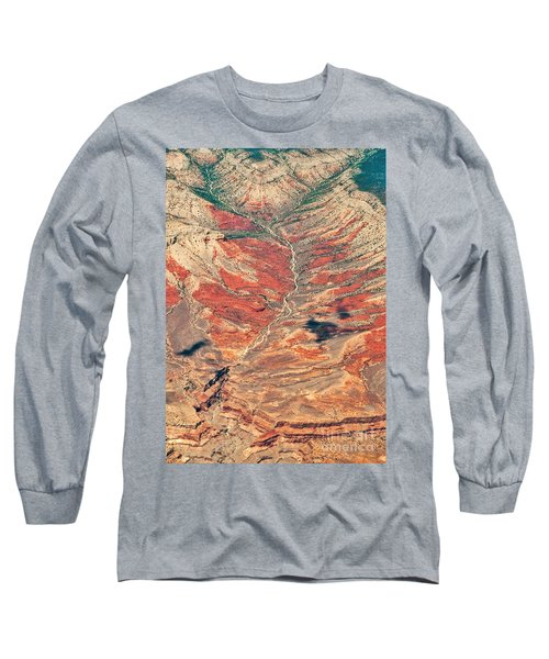 Long Sleeve T-Shirt featuring the digital art Above Timber Line by Mae Wertz