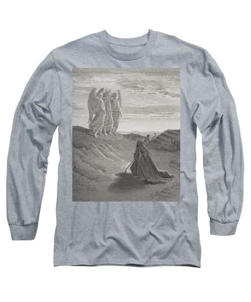 Abraham And The Three Angels Long Sleeve T-Shirt
