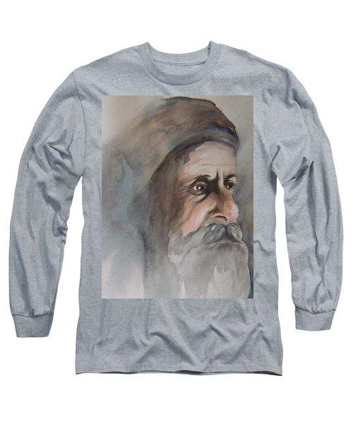 Abraham Long Sleeve T-Shirt by Annemeet Hasidi- van der Leij