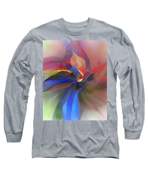 Long Sleeve T-Shirt featuring the digital art Abstract 121214 by David Lane
