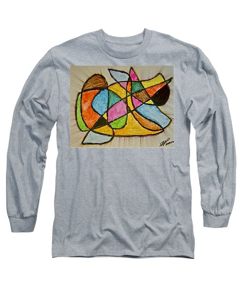 Abstract 89-002 Long Sleeve T-Shirt