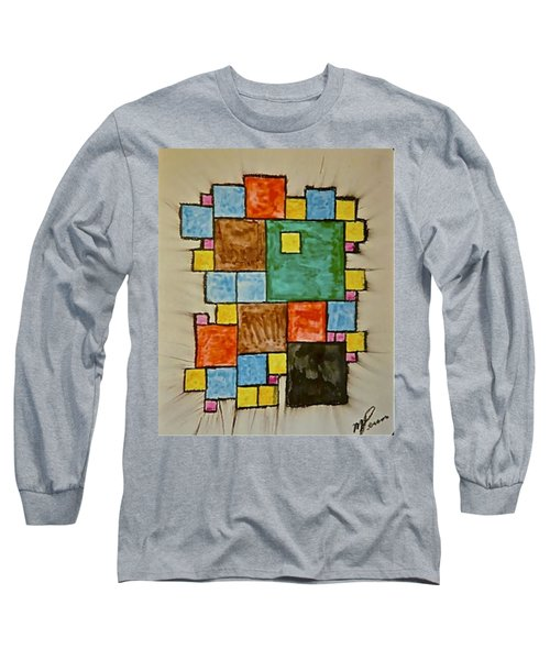 Abstract 89-003 Long Sleeve T-Shirt