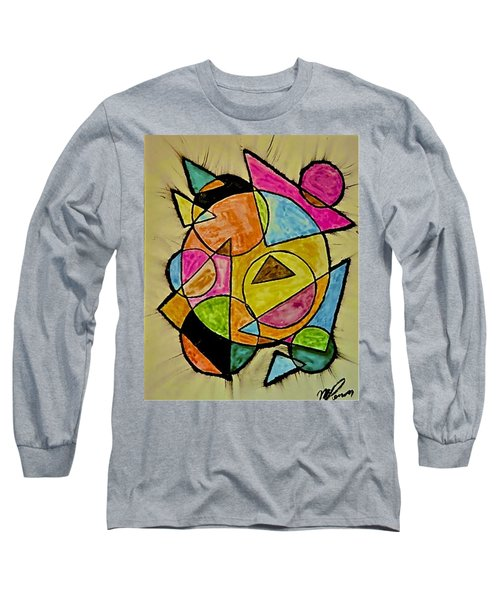 Abstract 89-004 Long Sleeve T-Shirt