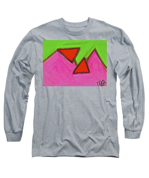 Abstract 92-002 Long Sleeve T-Shirt