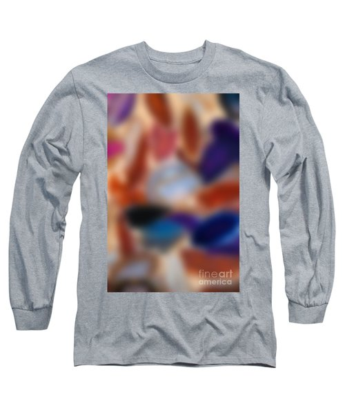 Abstract Background Long Sleeve T-Shirt by Carsten Reisinger