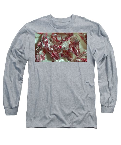 Abstract Carnation 2 Long Sleeve T-Shirt