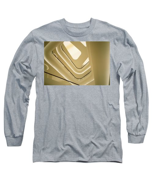 Abstract Geometry Long Sleeve T-Shirt