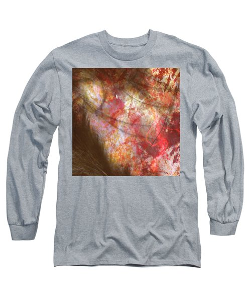 Abstract Pillow Long Sleeve T-Shirt by Kim Prowse