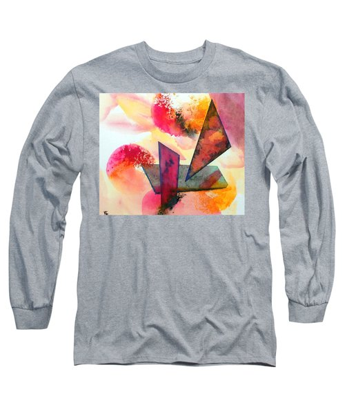 Abstract Shapes Long Sleeve T-Shirt