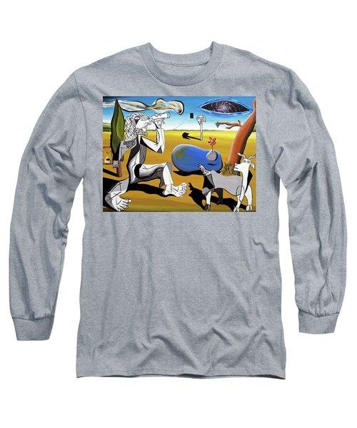 Abstract Surrealism Long Sleeve T-Shirt