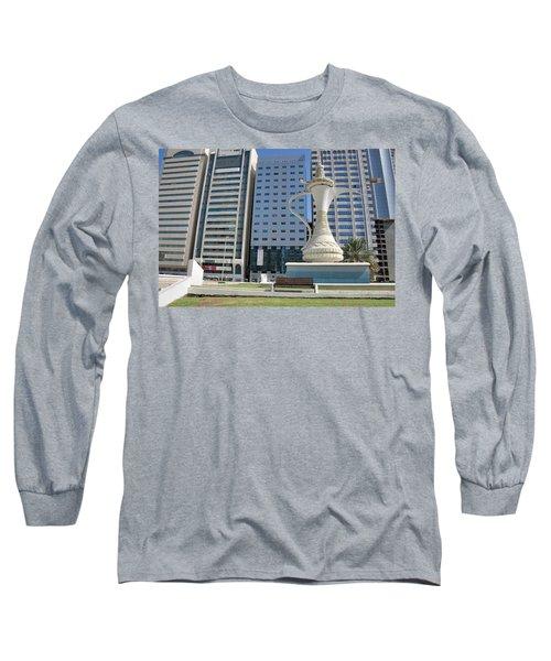 Abu Dhabi Al Ittihad Square Long Sleeve T-Shirt