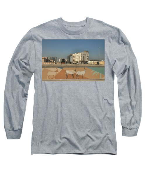 Abu Dhabi Outskirts Long Sleeve T-Shirt