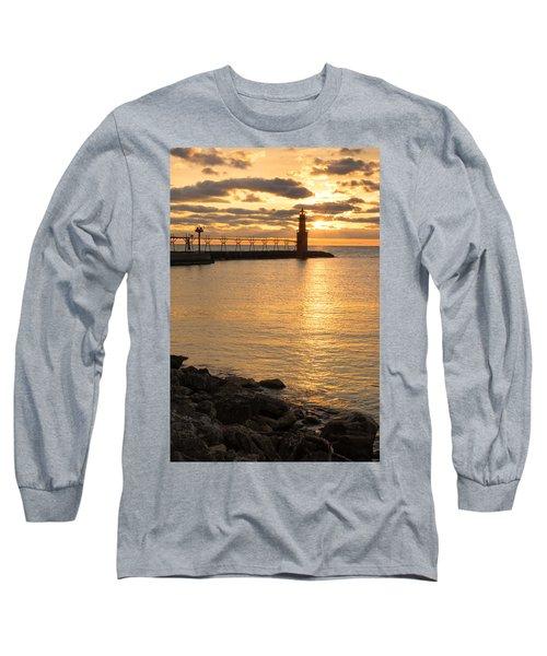 Across The Harbor Long Sleeve T-Shirt
