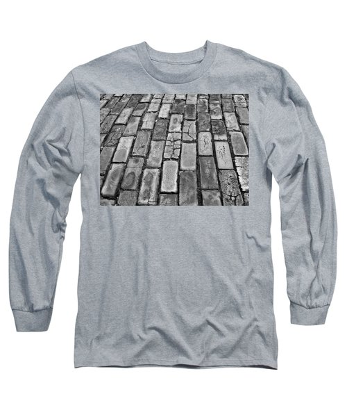 Adoquines - Old San Juan Pavers Long Sleeve T-Shirt