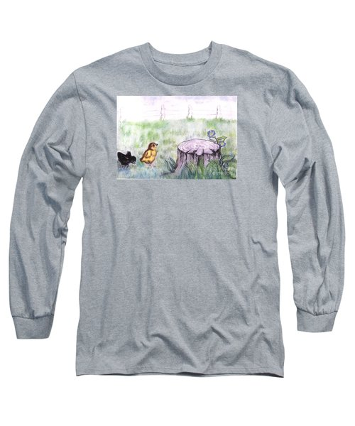 Adventurous Chicks Long Sleeve T-Shirt