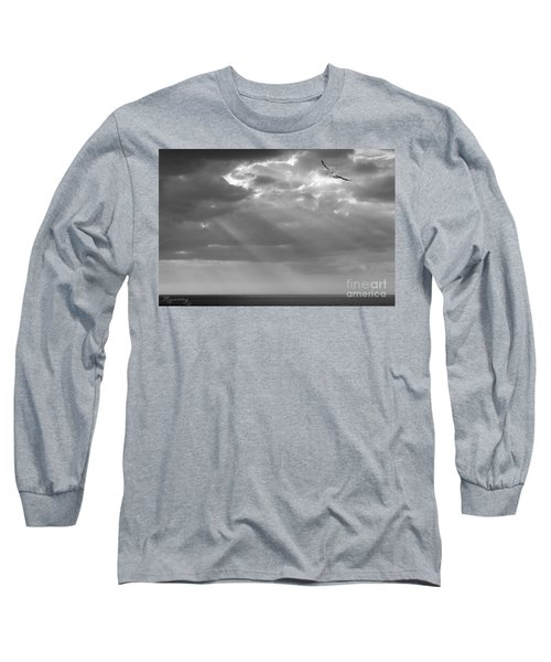 After The Storm Long Sleeve T-Shirt by Mariarosa Rockefeller