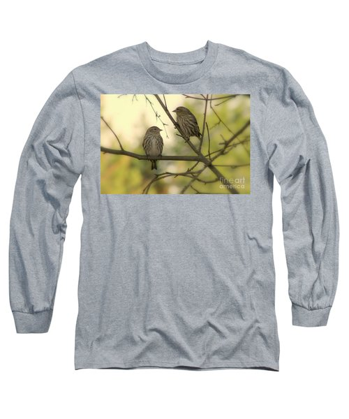 Afternoon Sit Long Sleeve T-Shirt