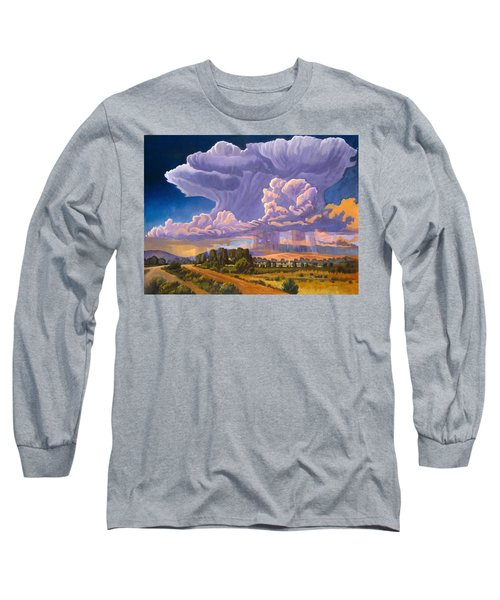 Afternoon Thunder Long Sleeve T-Shirt by Art James West