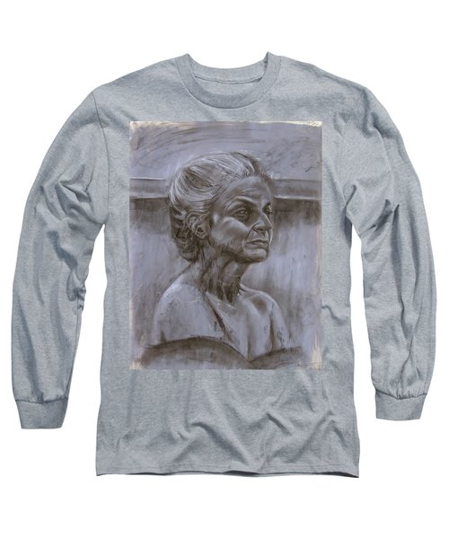 Aged Woman Long Sleeve T-Shirt by Samantha Geernaert