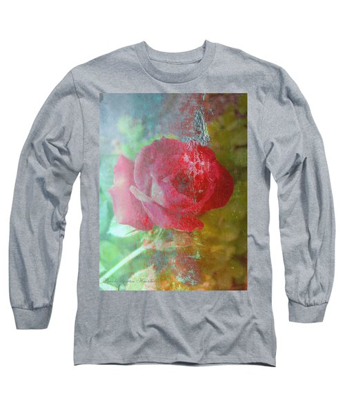 Ageless - Rose - Manipulated Images Long Sleeve T-Shirt