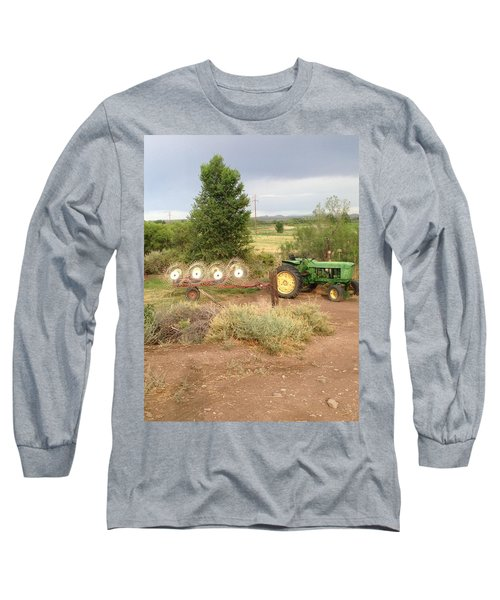 Long Sleeve T-Shirt featuring the photograph Alfalfa Time by Erika Chamberlin