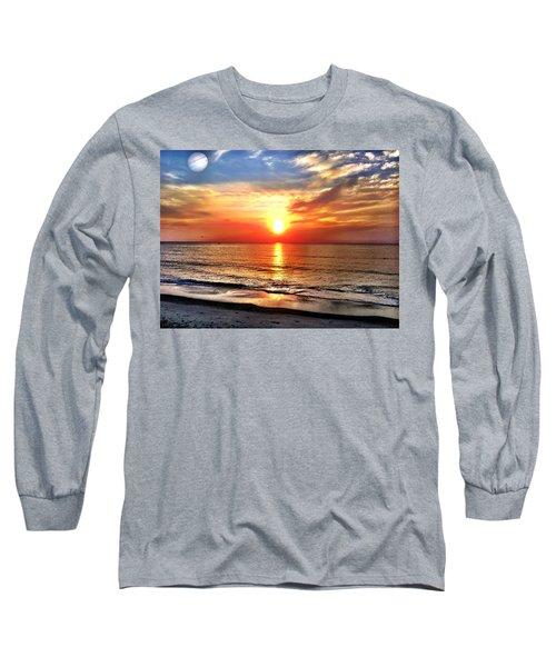 Alignment Long Sleeve T-Shirt by Carlos Avila