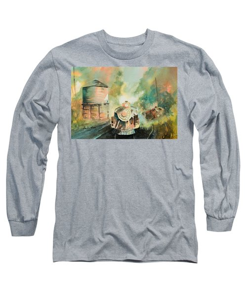 All Aboard Long Sleeve T-Shirt by Lee Beuther